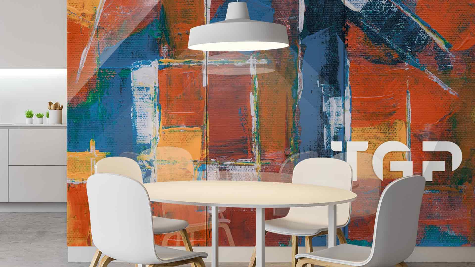 ART010 sticlă printată bucătărie placare perete