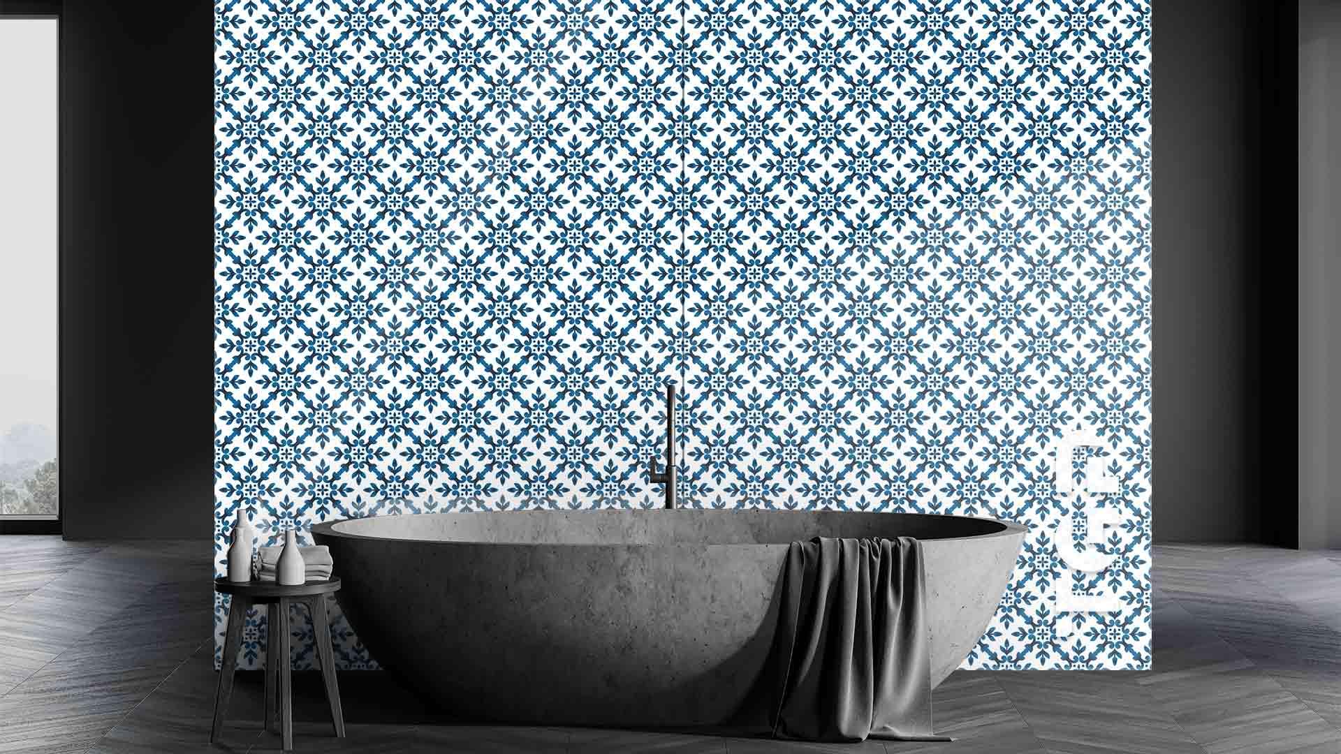 DFT017 sticlă printată baie placare perete