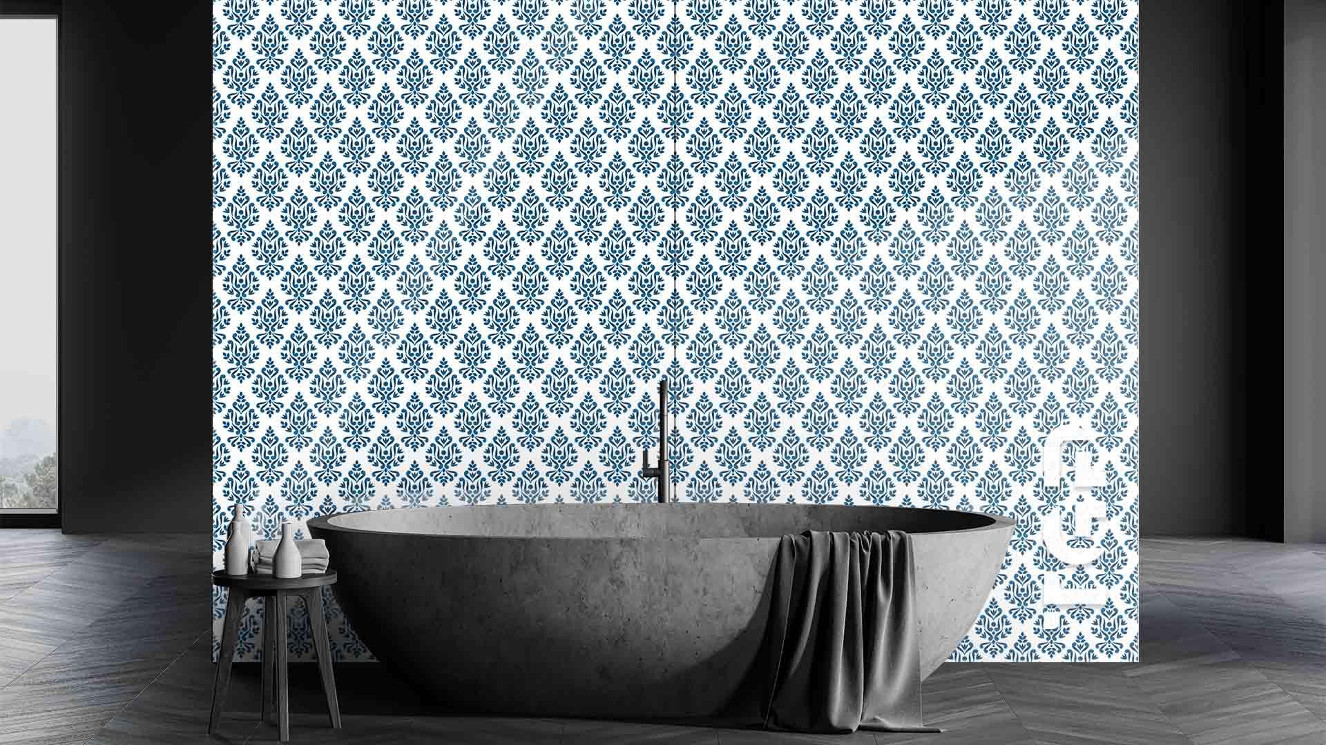 DFT021 sticlă printată baie placare perete