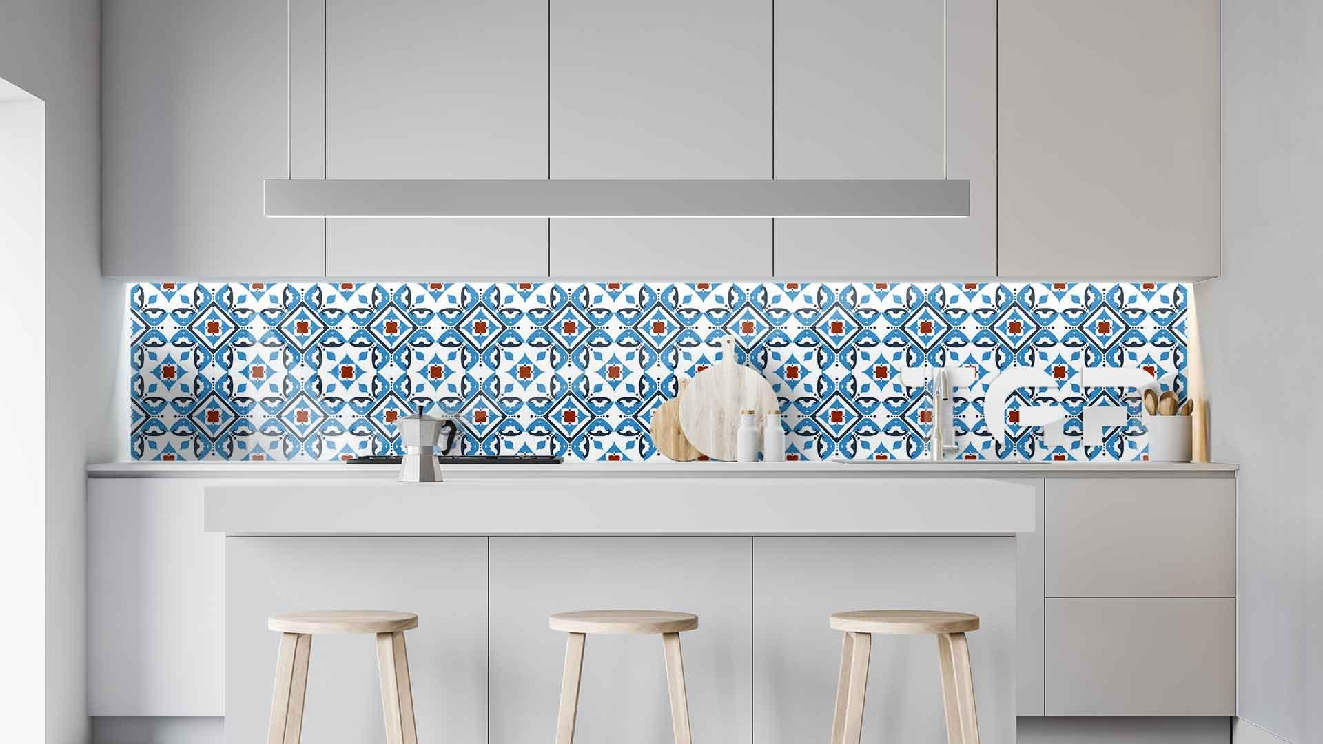 PRC005 sticlă printată bucătărie contrablat