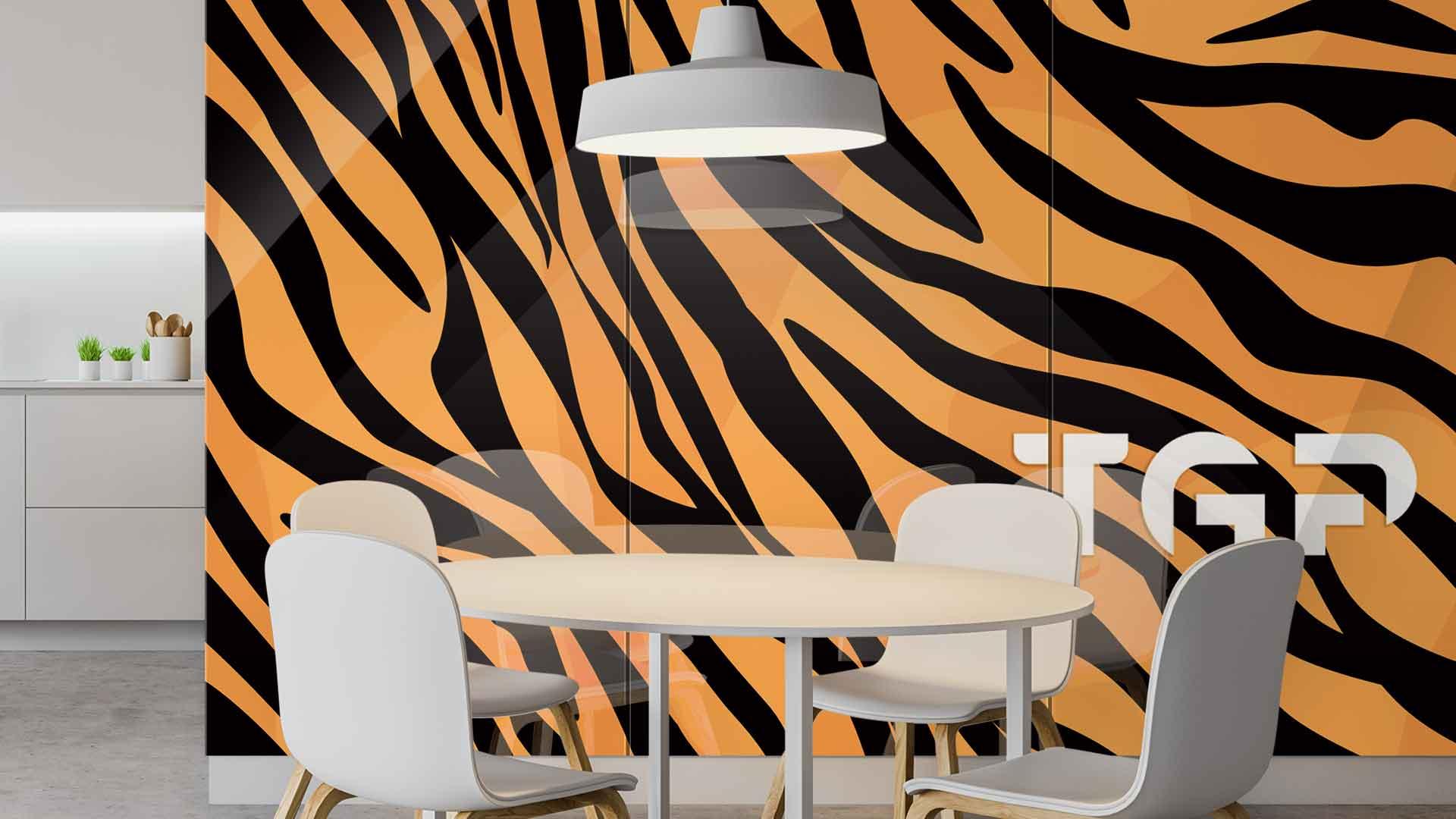 SFR013 sticlă printată bucătărie placare perete